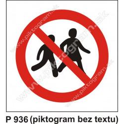 Zákaz vstupu pre deti
