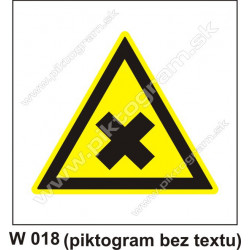 Nebezpečenstvo škodlivých alebo dráždivých látok