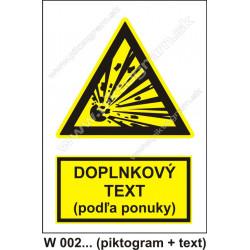 W 002 - textová