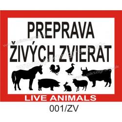 Preprava živých zvierat