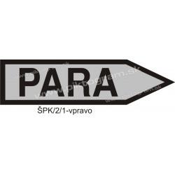 Para - označenie potrubia