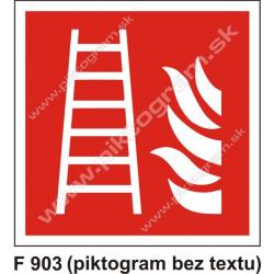 Rebrík (podľa ISO 7010)