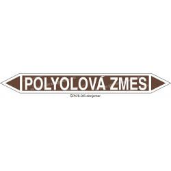 Polyolová zmes - označenie potrubia