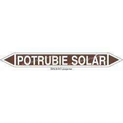 Potrubie solár - označenie potrubia