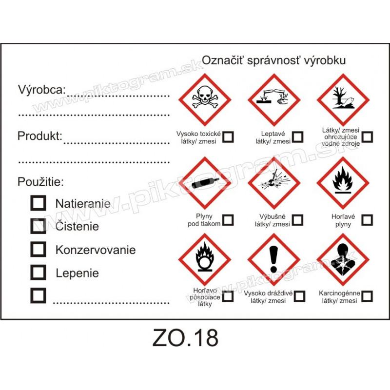 Označenie obalov nebezpečných látok
