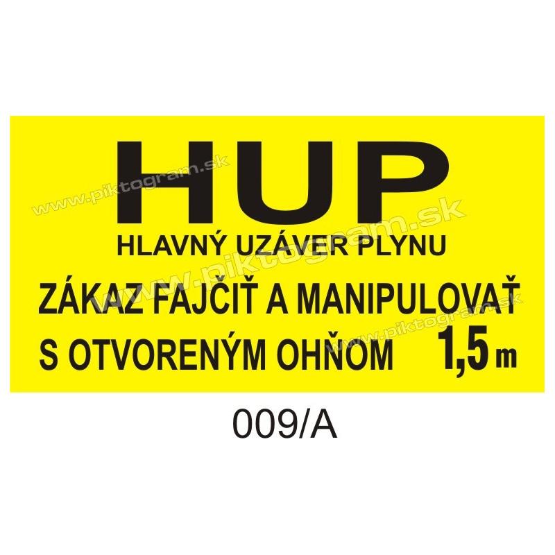 HUP - hlavný uzáver plynu