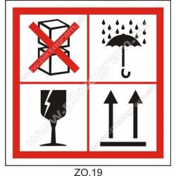 ZO.19 - označenie tovaru pri preprave