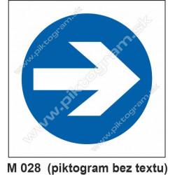 Prikázaný smer (M 028)