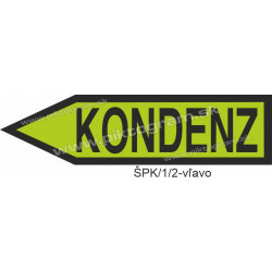 Kondenz - označenie potrubia