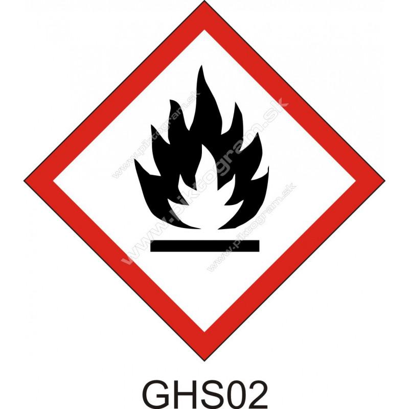 GHS02 - Horľavé látky a zmesi