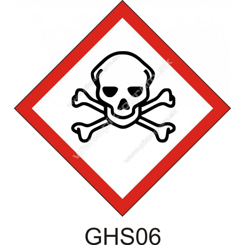 GHS06 - Toxické látky a zmesi