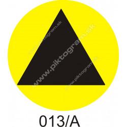 Označenie na schody 013/A