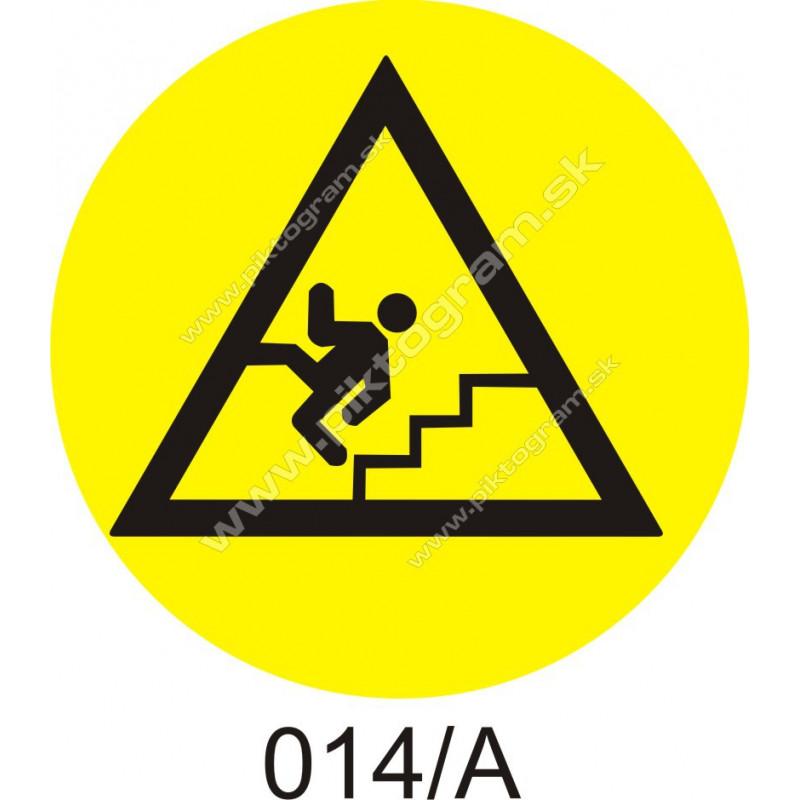 Označenie na schody 014/A