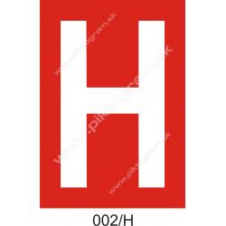 H - podzemný hydrant