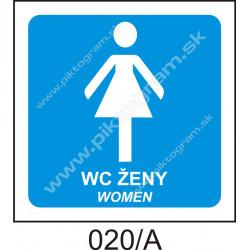 WC - ženy