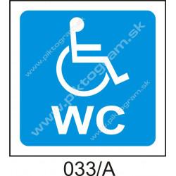 WC - invalidi