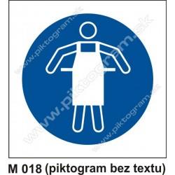 Príkaz na používanie ochrannej zástery