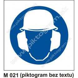 Príkaz na ochranu hlavy a sluchu