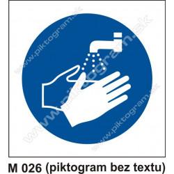 Príkaz na umytie rúk