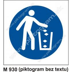 Príkaz na udržiavanie čistoty a poriadku