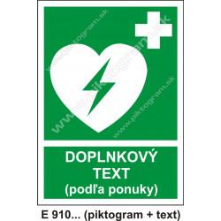 Automatický externý defibrilátor srdca