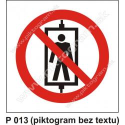Zákaz prepravy osôb