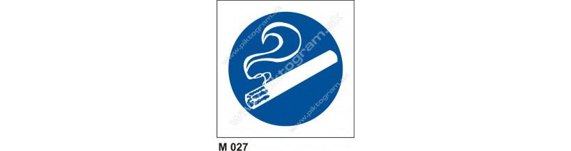 Miesto vyhradené na fajčenie - bezpečnostné značenie