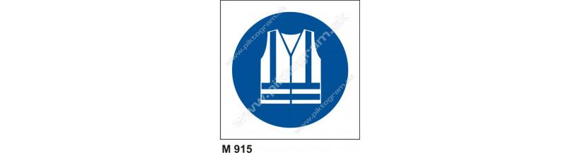 Príkaz na používanie odevu s reflexnými pásmi - PO a BOZP označenie