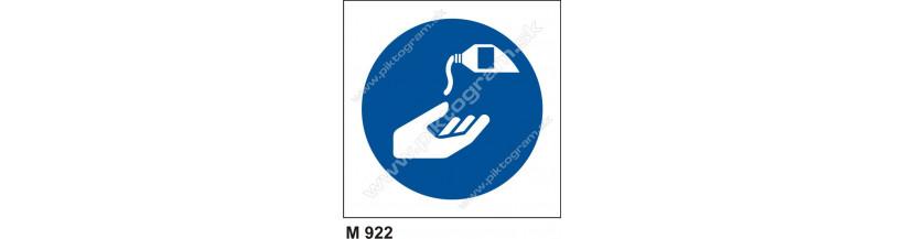 Príkaz na používanie ochranného krému - BOZP a PO značenie