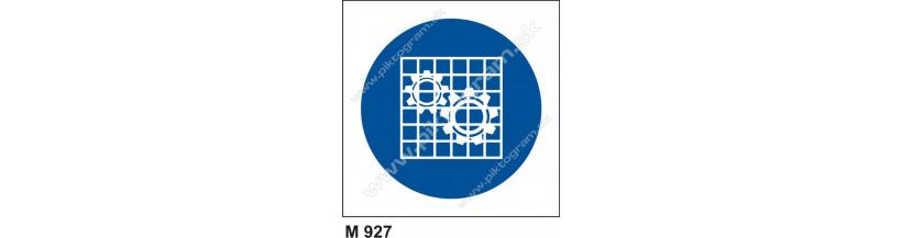 Príkaz na kontrolu ochraných krytov - PO a BOZP značenie