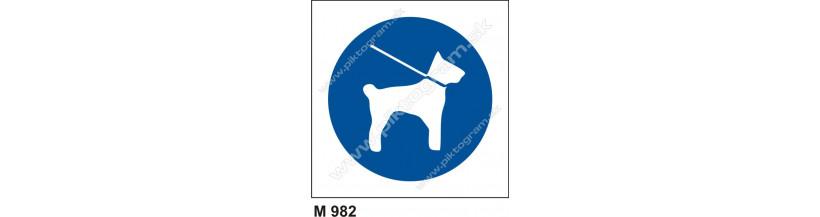 Príkaz na používanie prezúvok - bezpečnostné značky, piktogram