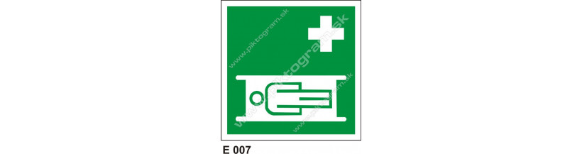 Nosidlá - bezpečnostné značenie