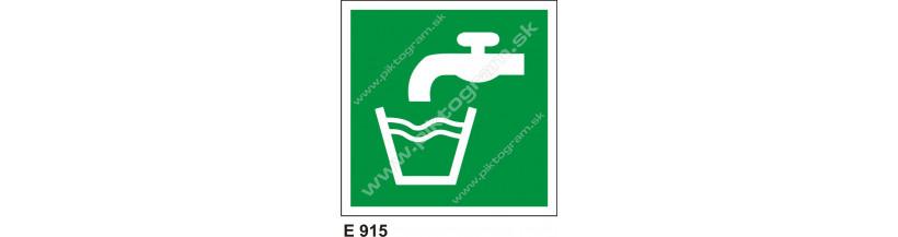 Pitná voda - značenie PO a BOZP