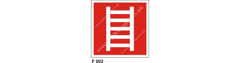 Rebrík - bezpečnostné označenie
