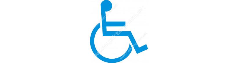 ZŤP osoby - vozičkári - ivalidi