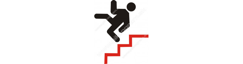 Schody, schod, označenie