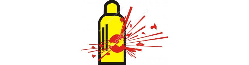 Plynové tlakové fľaše