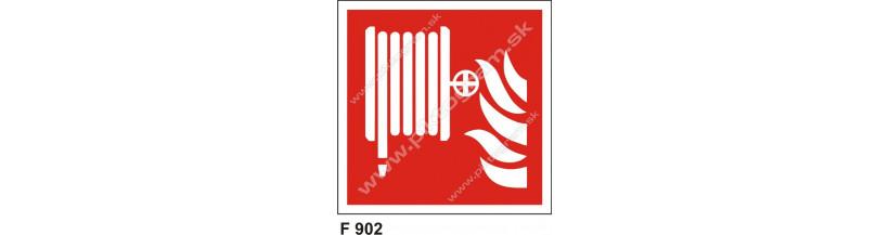 Hydrant - požiarna hadica, označenie podľa ISO 7010