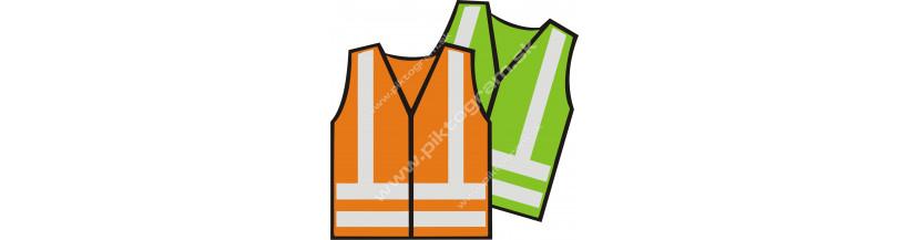 Reflexné vesty s potlačou
