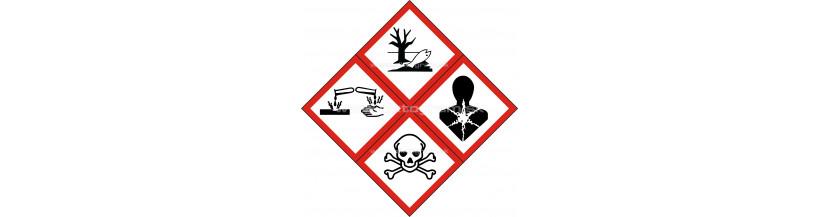 Značenie obalov nebezpečných látok piktogram chemického nebezpečenstva
