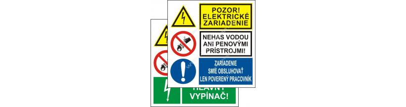 Trojité bezpečnostné značenie